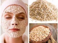Подтягивающие маски для лица из овсянки: очищают и спасают от прыщей