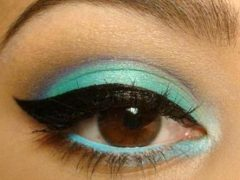 Как сделать вечерний макияж для карих глаз: лучшие варианты
