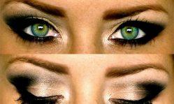 Макияж смоки айс для зеленых глаз: техники, секреты и особенности