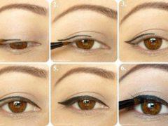 Как правильно подводить глаза: как легко подчеркнуть глаза с помощью стрелок