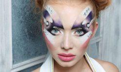Фантазийный макияж: неповторимая изящность