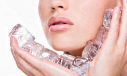 Кубики льда от морщин: омолаживающее действие холода