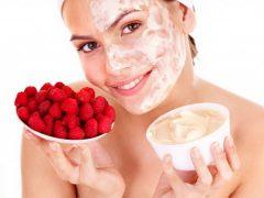 Малиновая маска для лица: невероятное питание кожи