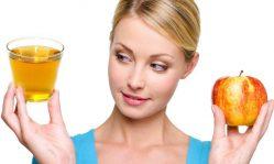 Яблочный уксус для лица: как помогает коже