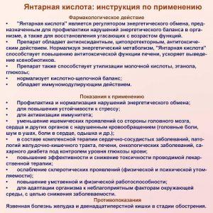 Янтарная кислота 0. 25 г №80 таблетки цена, инструкция, применение.